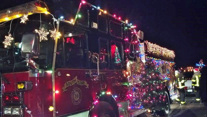 Christmasville Firetruck Parade